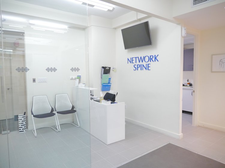 Network Spine Manhattan Osteopath Entrance