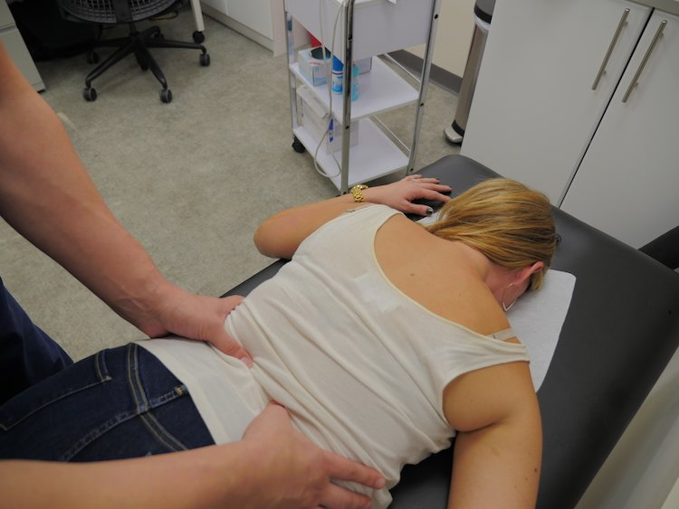 Osteopathic Manipulation for Back and Ribs and Assessing Pain Referral Patterns