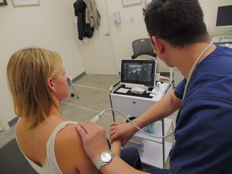 Pre-Procedural Diagnostic Ultrasound Shoulder Movement